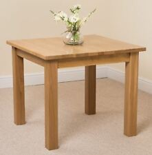 Oslo 100 Solid Oak Square Small Size Dining Room Kitchen Table Furniture