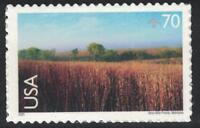Scott C136- Nine Mile Prairie, Nebraska- 70c MNH (S/A) 2001- unused mint Airmail