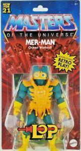 Masters of the Universe Origins Mer-Man Figure - New Mattel MOTU