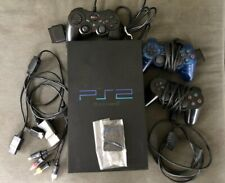 PlayStation 2 PS2 Fat Console Bundle 3 Controllers - 24 Games Included Tested