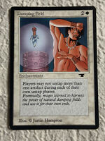 Damping Field Played Antiquities 1994 Reserved List Mtg Magic the Gathering
