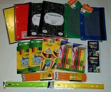 New Back to School Supplies Kit Bundle Pack Set Grade K 8 Paper Markers Teachers