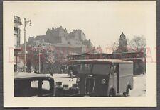 Vintage Photo Roadside View of Edinburgh Castle in Scotland 664975
