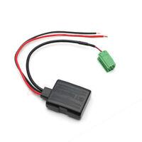 Coche Bluetooth Cable Adaptador Estéreo para Renault Clio Kangoo Megane Scenic
