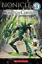 Bionicles The Secret of Certavus by Greg Farshtey (Paperback 2009) Book New