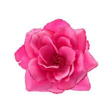Accessoires de coiffure barrette rose pour femme