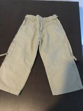 TIMBEBLAND boys beige cotton trousers Age 2
