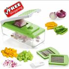 Onion Slicer Dicer Vegetable Cutter Kitchen Food Chopper Tool Container Fruit