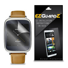 2X EZguardz LCD Screen Protector Cover HD 2X For Asus ZenWatch (Ultra Clear)