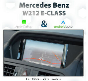 Mercedes Benz W212 C207 E-Class 2010 - 2012 Touch Apple CarPlay & Android Auto