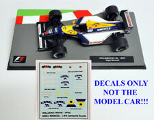 DECALS Nigel Mansell 1992 FW14B Camel & Labatts 1:43 Formula 1 Car Collections