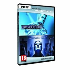 Deus Ex & Deus Ex: Invisible War Double Pack (PC-DVD) NEW SEALED