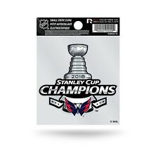Washington Capitals Stanley Cup Champions Static Cling Decal Sticker NEW!! 2018