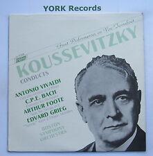 TV 34784 - KOUSSEVITZKY Conducts VIVALDI / BACH / FOOTE / GRIEG - Ex LP Record