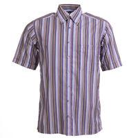 Eterna Sehr Gute Hemd Lila Streifen Größe S Bw 383