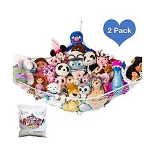 "Lillys Love Stuffed Animal Storage Hammock - Large Pack 2 ""Stuffie Party Hamm."