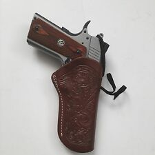 "1911 5"" Colt,Springfield,Remington,Kimber Right Hand Leather Holster"