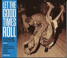LET THE GOOD TIMES ROLL - 2 CD BOX SET IKE & TINA TURNER, SLIM HARPO & MORE