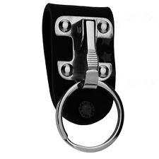 Heavy Duty Belt Loop Clips Retractable Key Chain Holder Stainless Steel Keyring