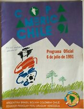 More details for 1991 copa america chile - official programme - excellent condition - rare!