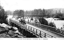 Photo. ca 1934. Terrace, BC Canada. Skeena River Bridge