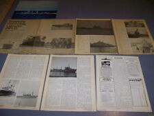 VINTAGE...CANADA GOOSE BAY & USS HOBSON...HISTORY/PHOTOS/DETAILS.RARE! (475S)