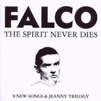 FALCO - THE SPIRIT NEVER DIES CD POP 12 TRACKS NEU
