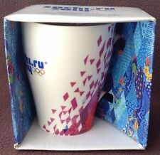 Genuine Sochi-Ru 2014 Winter Olympic Games Mug Souvenir Boxed