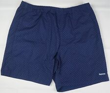 Rare Vintage SUPREME NWOT Polka Dot Water Shorts Board Trunks Navy SS13 Size XL