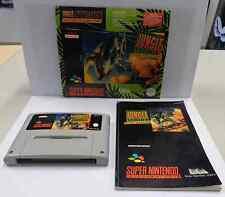 Console Game Gioco SUPER NINTENDO SNES 16 BIT Play JUNGLE STRIKE SNSP-AJGP-EUR