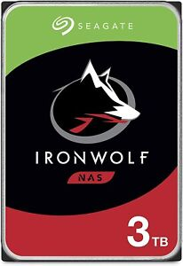 HARD DISK 3,5 SEAGATE IRONWOLF 3000GB 3TB 64MB CACHE - PER NAS - ST3000VN007