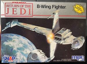 MPC B-Wing Fighter Star Wars Return of the Jedi Open Model Kit 'Sullys Hobbies'