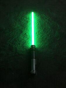 Star Wars Luke Skywalker Ultimate FX Lightsaber Tested Working Lights Sounds
