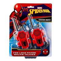 New Marvel Spiderman Homecoming FRS Walkie Talkies Kid Friendly Static Free
