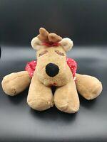 "Hallmark Rodney Rhonda Large 18"" Wide Reindeer Plush Christmas"