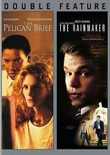John Grisham's The Rainmaker (1997)/ Pelican Brief, The, Good DVD, Various, Vari