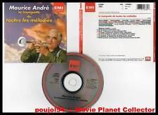 """MAURICE ANDRE """"La trompette De Toutes Les Mélodies"""" (CD) 1992"""