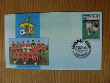 07/05/1986 World Cup postal cover: CC 0960-BULGARIA Team-stamp: BULGARIA pla