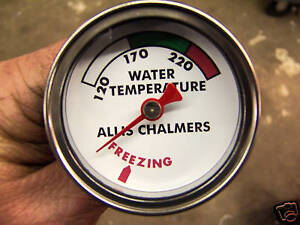 ALLIS CHALMERS WATER TEMPERATURE GAUGE B-C-WD-WD45 NEW REPLACEMENT