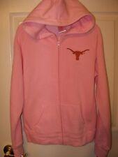 Texas Longhorns Full Zip Pink Hoodie Girls Size 16 NWT  #43
