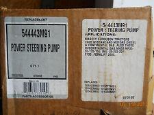 Massey Ferguson power steering pump gas or diesel