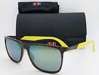 NEW Carrera sunglasses 5018/S MDHQU 56mm Havana Brown Green Mirror GENUINE Neon