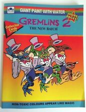 Gremlins 2 The New Batch - Giant Paint with Water Book - Very Rare
