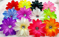 TROPICAL LILY Flower, HAIR BOW, FLOWER BOW, RHINESTONE* *YOUR CHOICE OF COLORS