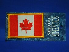 Canada Canadian Flag Souvenir Iron On Patch