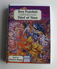 THIEF OF TIME - TERRY PRATCHETT : UNABRIDGED AUDIO BOOK ( ISIS ) CASSETTES
