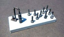 N Scale Smudge Pots and Flood Irrigation Valve Kit for Model Railroad Hobby(512)