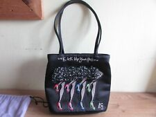 """Lulu Guinness Stunning Bag """"KICK UP YOUR HEELS"""" With Dust Bag"""
