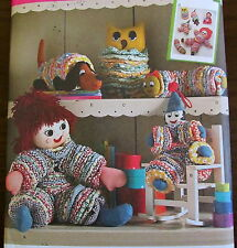 Reproduction pattern Vtg 70s YOYO doll dog owl toy clown yo yo
