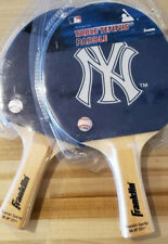 NEW YORK YANKEES PING PONG PADDLES LOT OF 2 TABLE TENNIS THE GAME ROOM STORE NJ